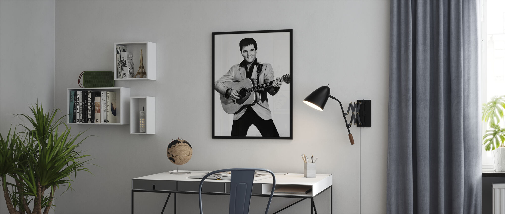 Der König der 60er Jahre - Gerahmtes bild - Büro