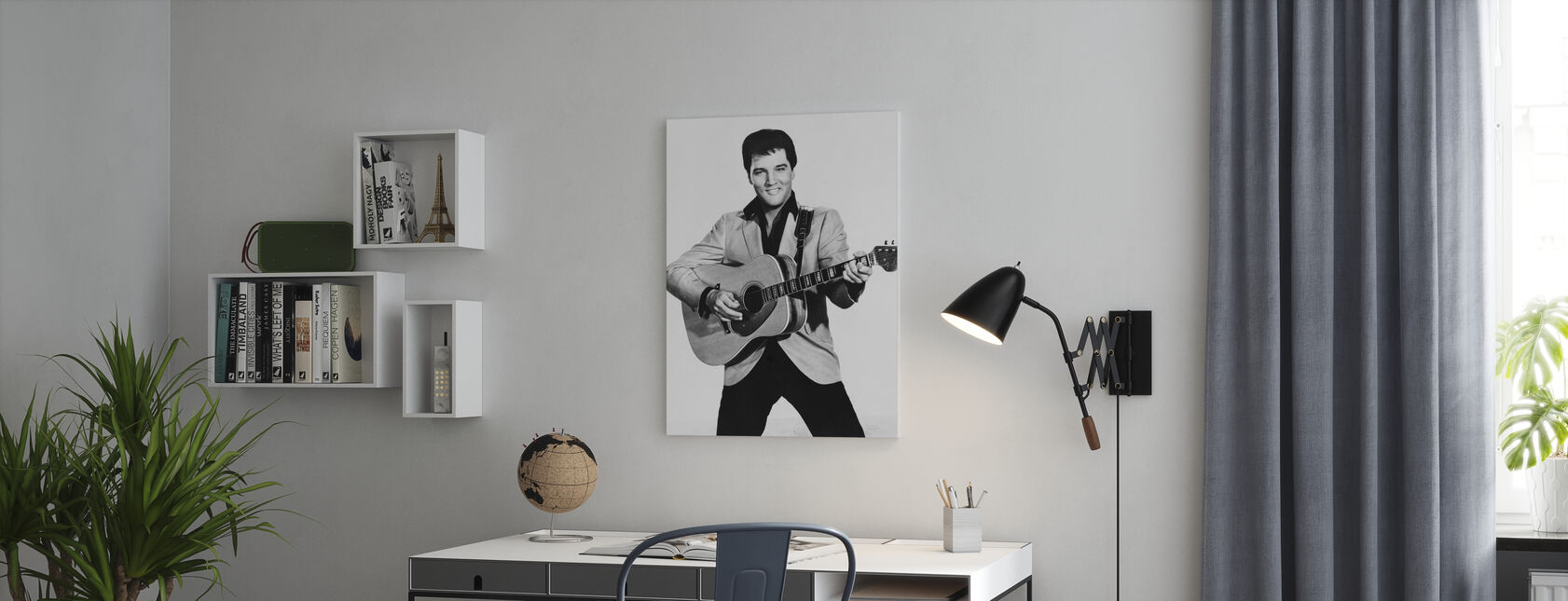 The King 1960s - Canvas print - Office