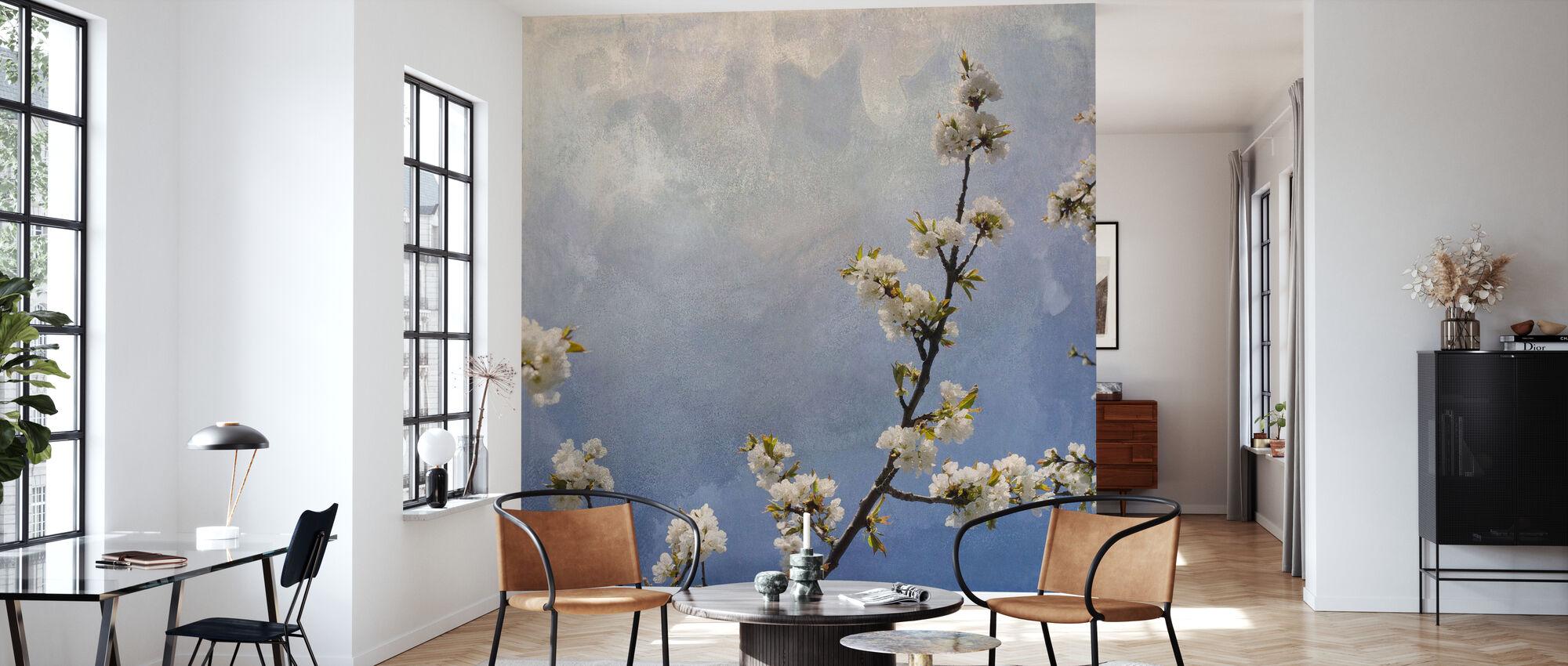 Apple Branch - Wallpaper - Living Room