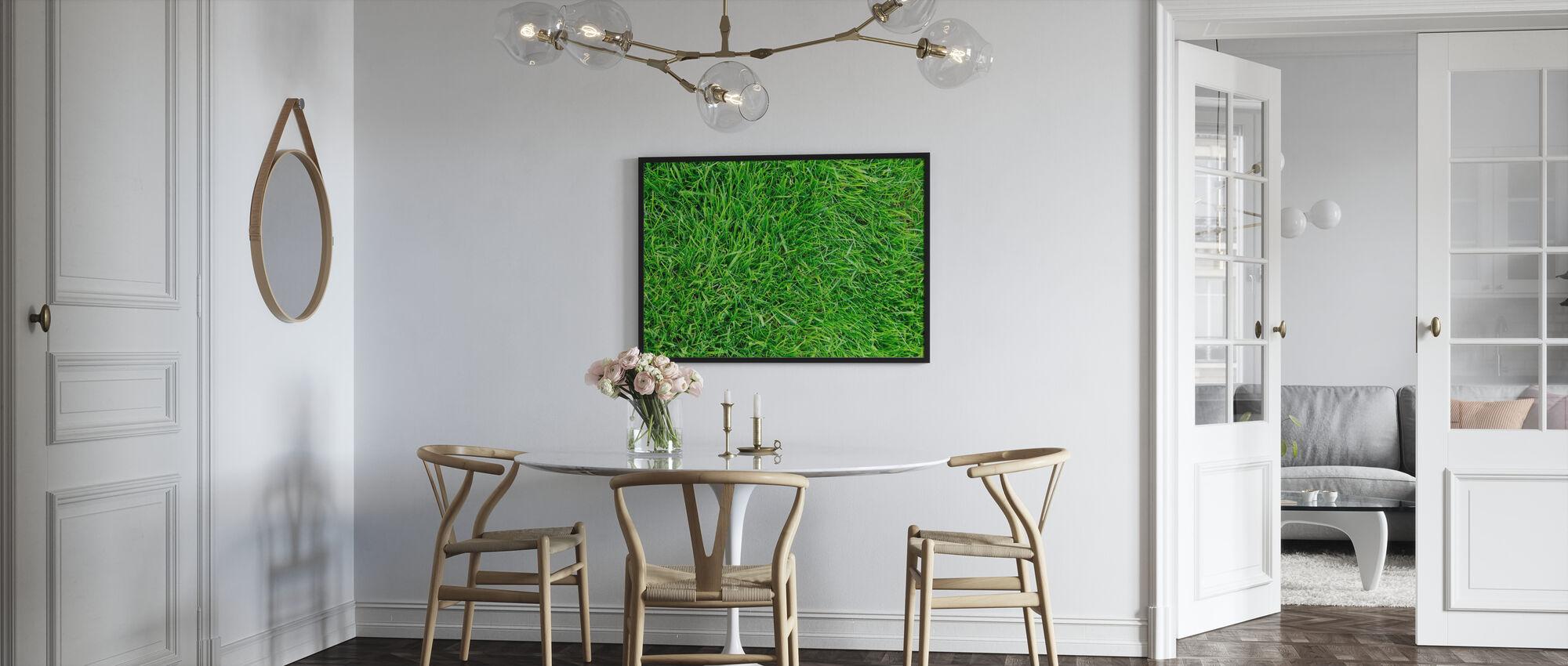 Erba Verde Fresca - Poster - Cucina