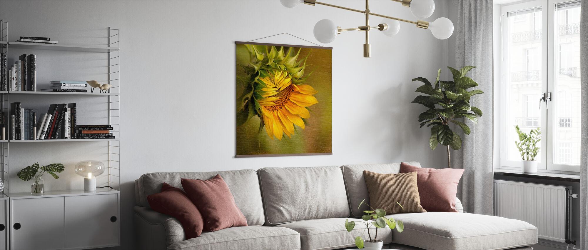 Summer's Beauty - Poster - Living Room