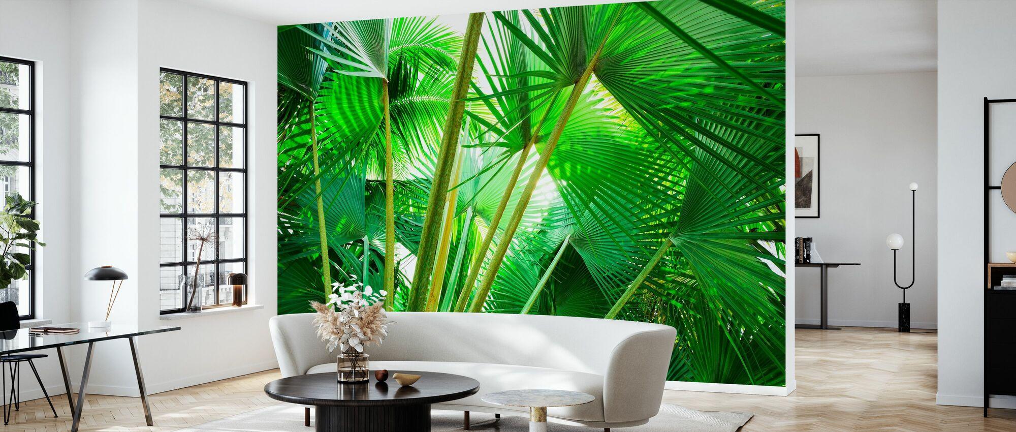 Palm Grove - Behang - Woonkamer