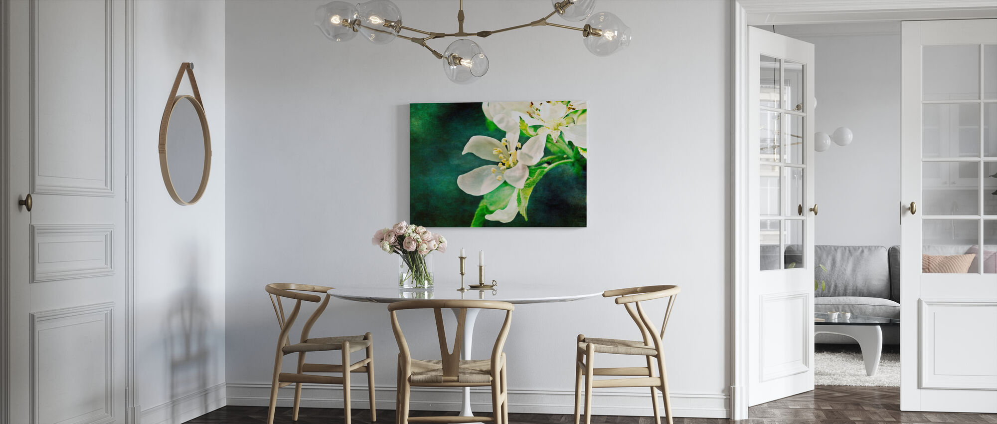 Apple Blossom - Canvas print - Kitchen