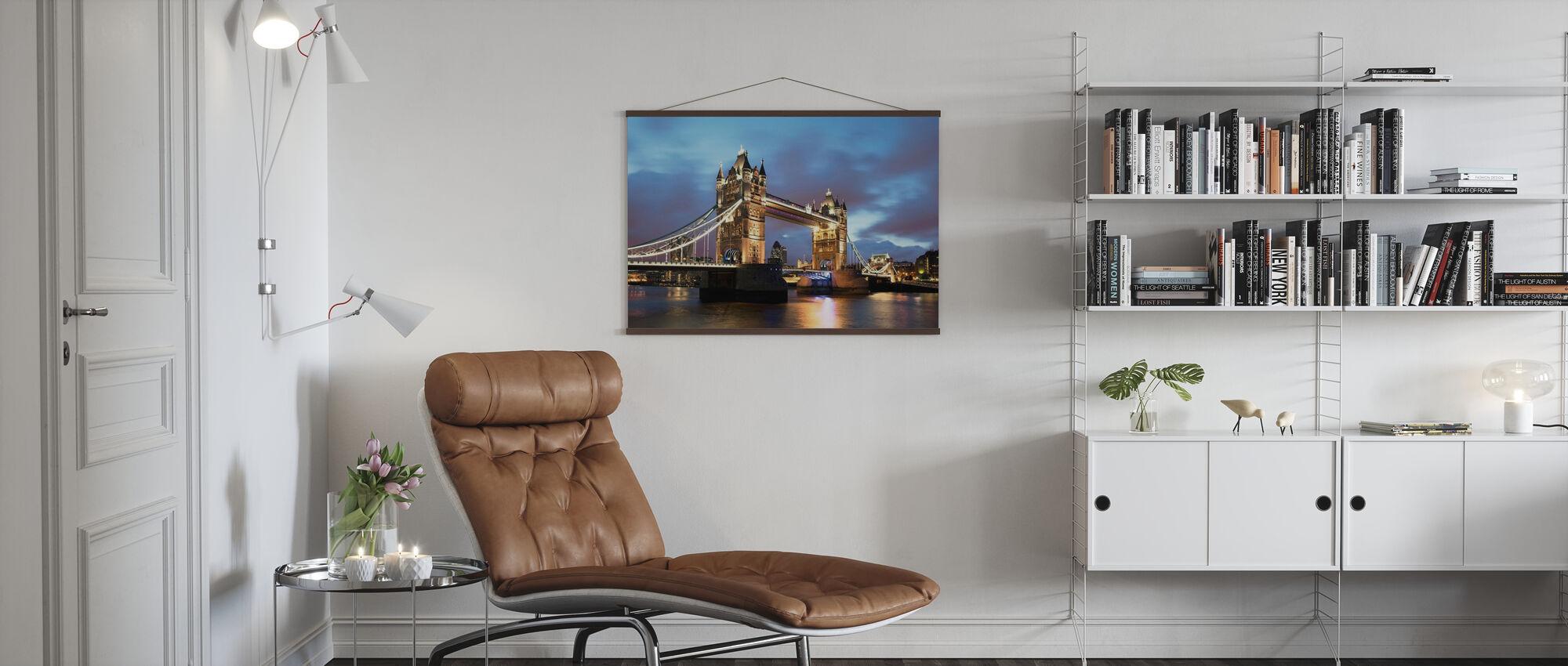 Iconic Bridge - Poster - Living Room