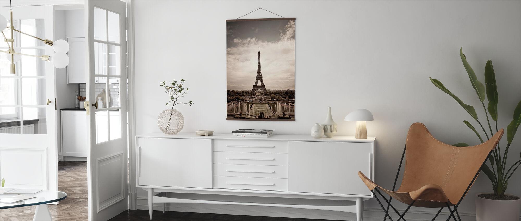 Eiffeltårnet sett Fra Palais de Chaillot - Plakat - Stue