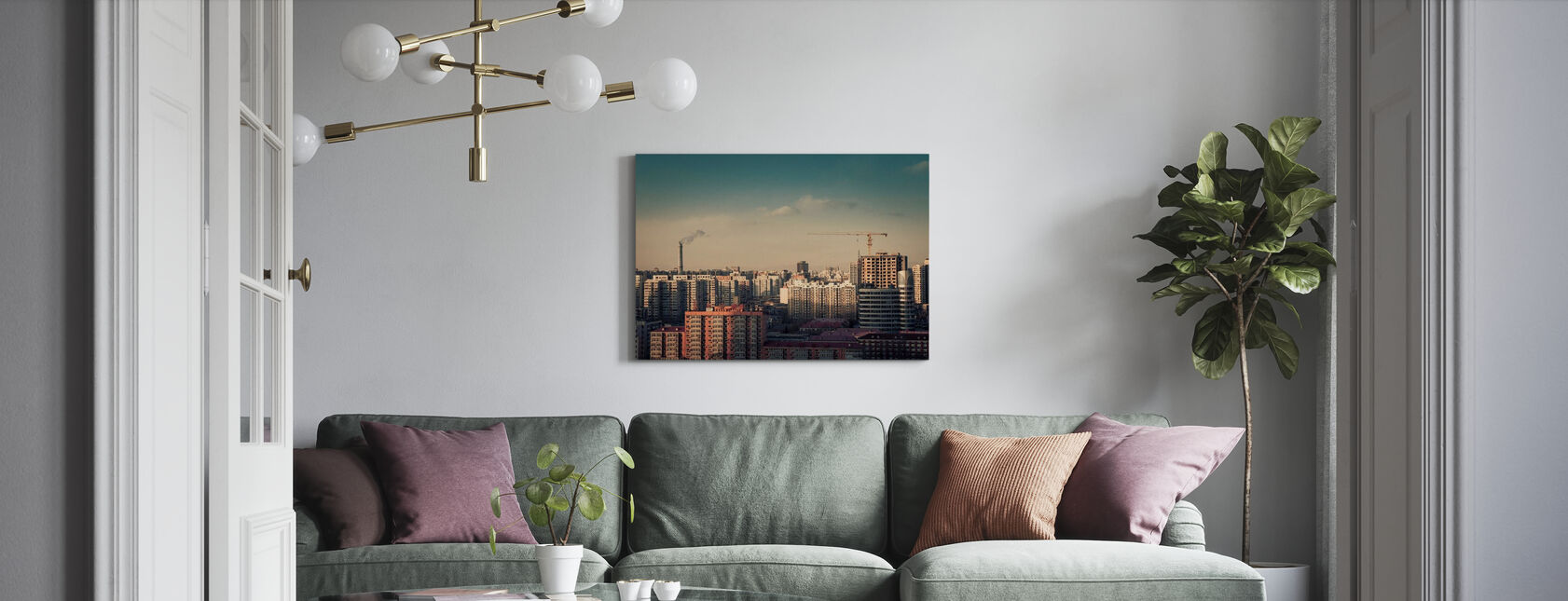 Beijing - Canvas print - Living Room