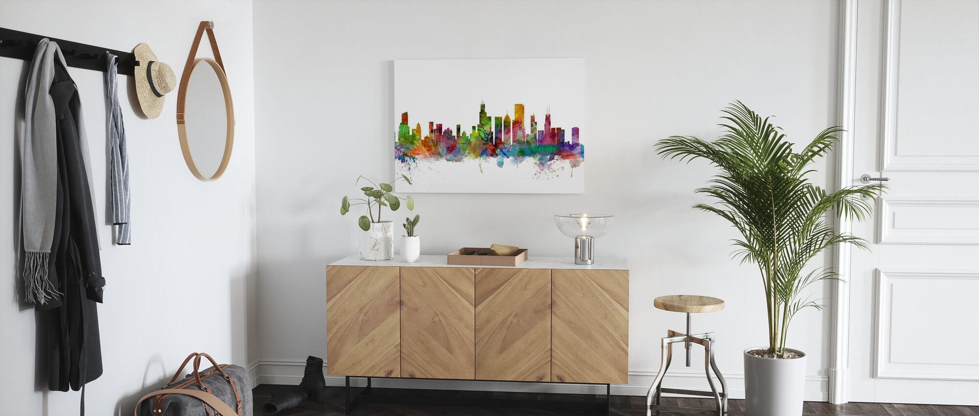 Chicago Skyline - Canvastaulu - Aula