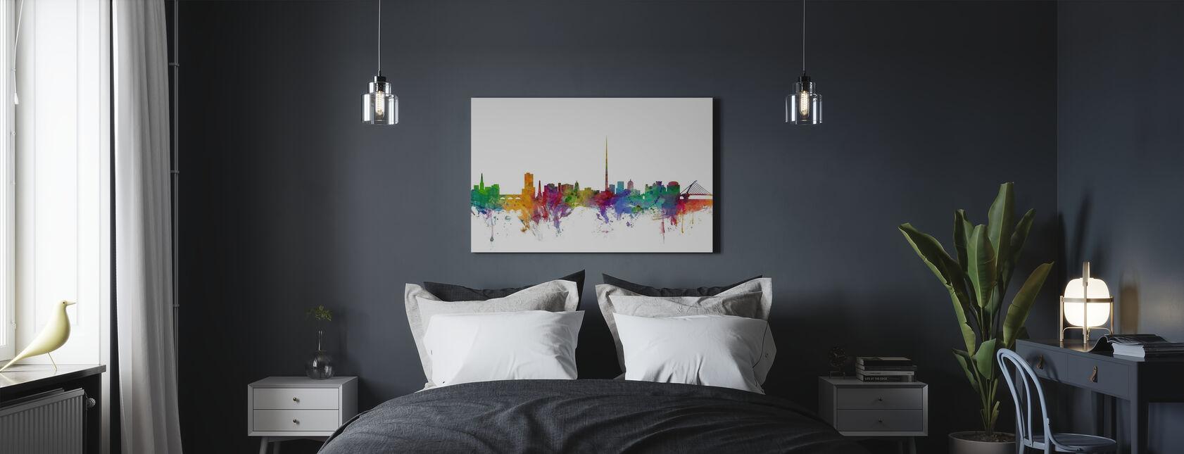 Dublin Skyline - Canvas print - Bedroom