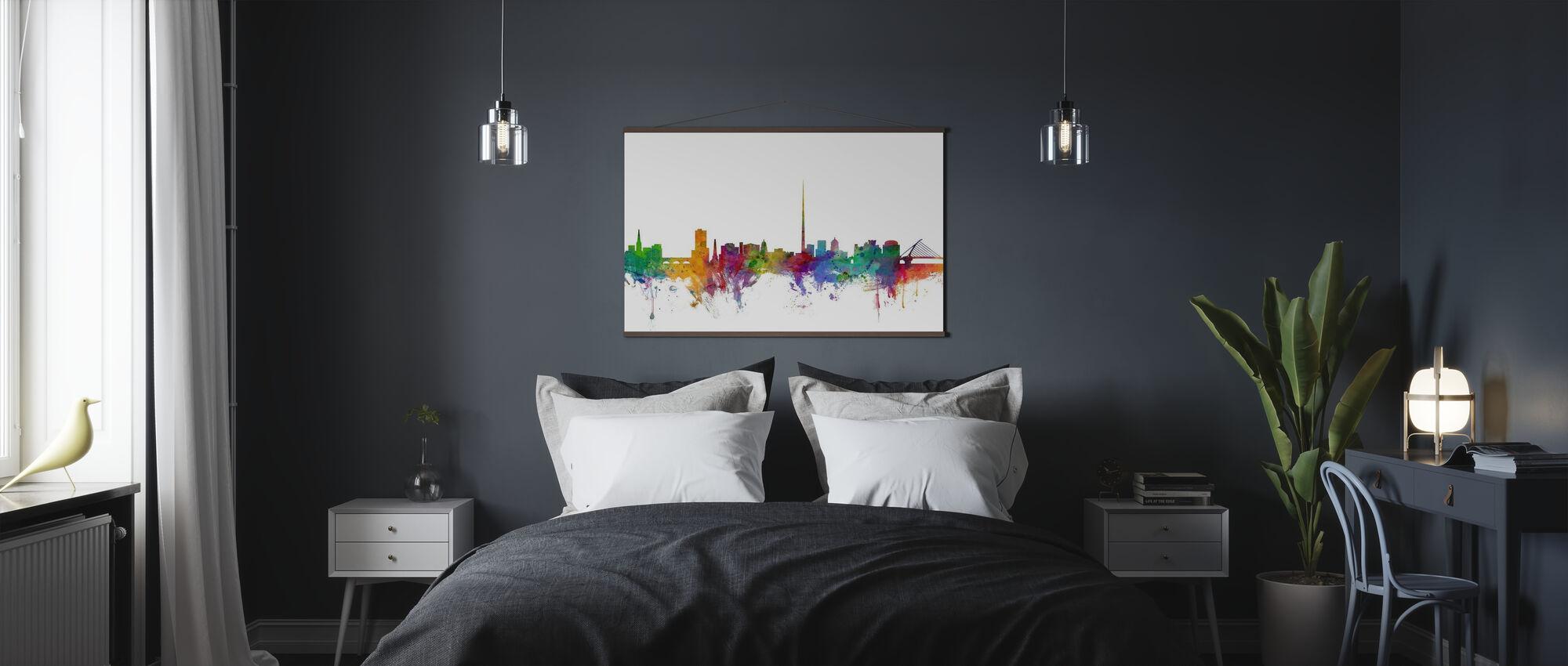 Dublin Skyline - Plakat - Soverom