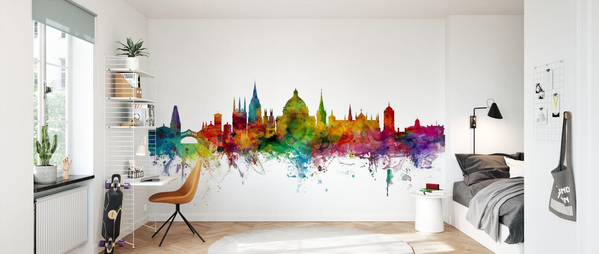 Oxford Skyline - Wallpaper - Kids Room