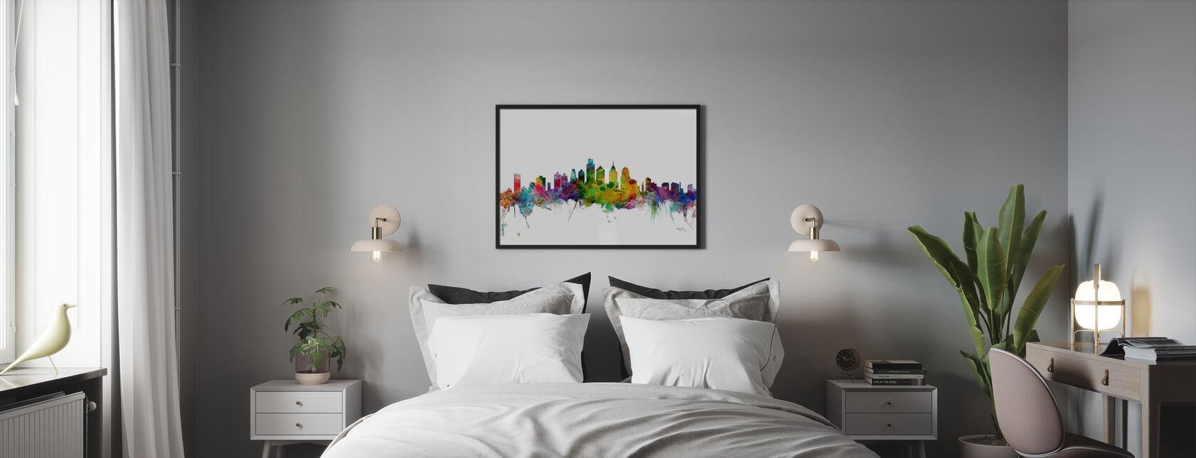 Philadelphia Skyline - Plakat - Soverom