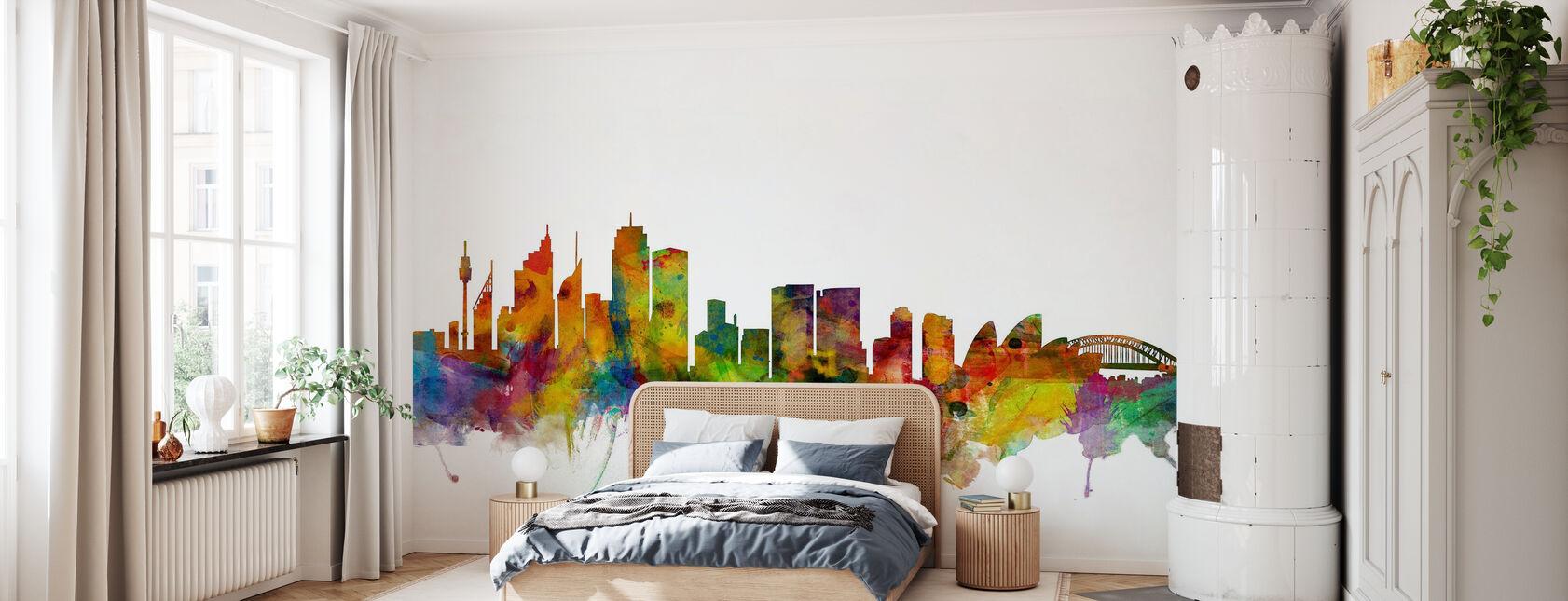 Sydney Skyline - Tapet - Soveværelse