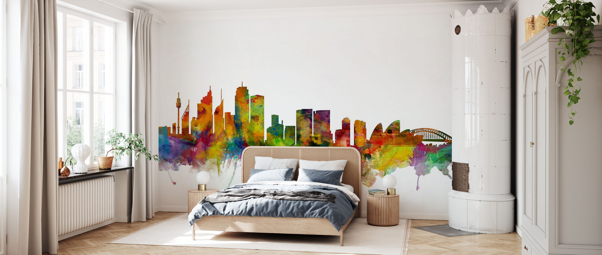 Sydney Skyline - Wallpaper - Bedroom