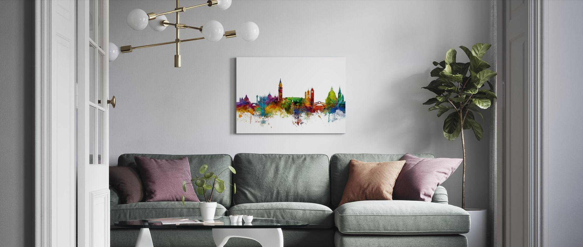 Venice Skyline - Canvas print - Living Room