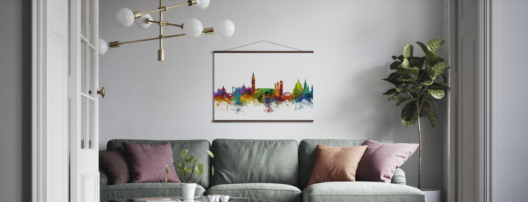 Skyline di Venezia - Poster - Salotto