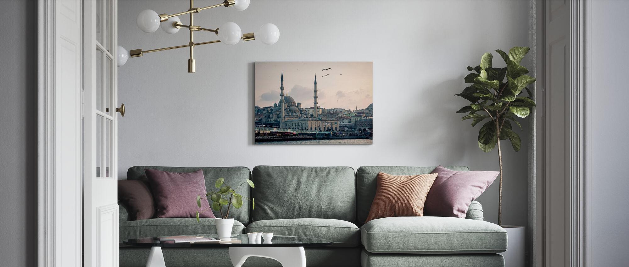 Istanbul - Canvastavla - Vardagsrum