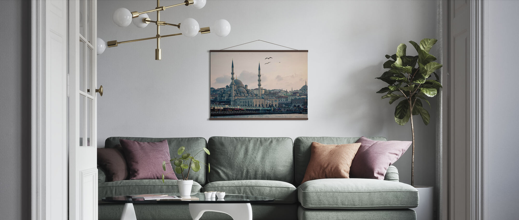 Istanbul - Poster - Living Room