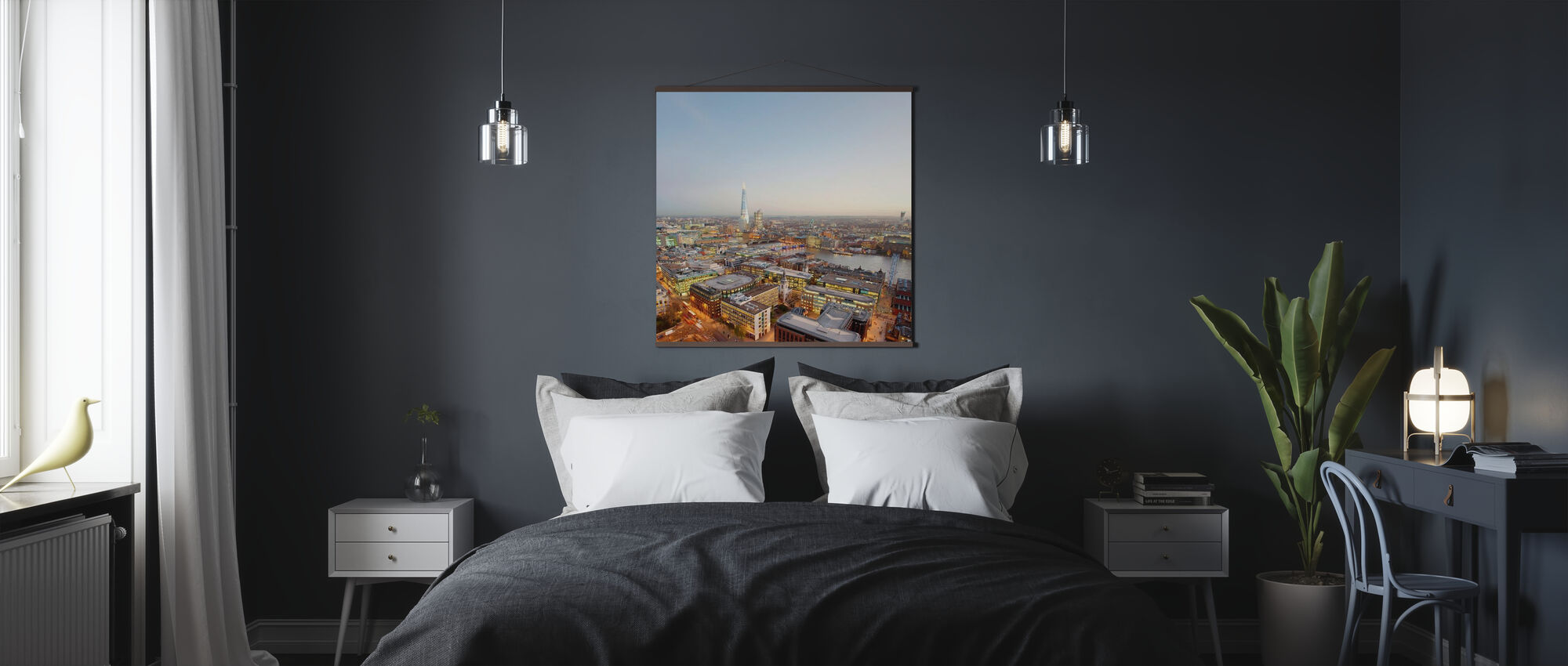 London and the Shard - Poster - Bedroom