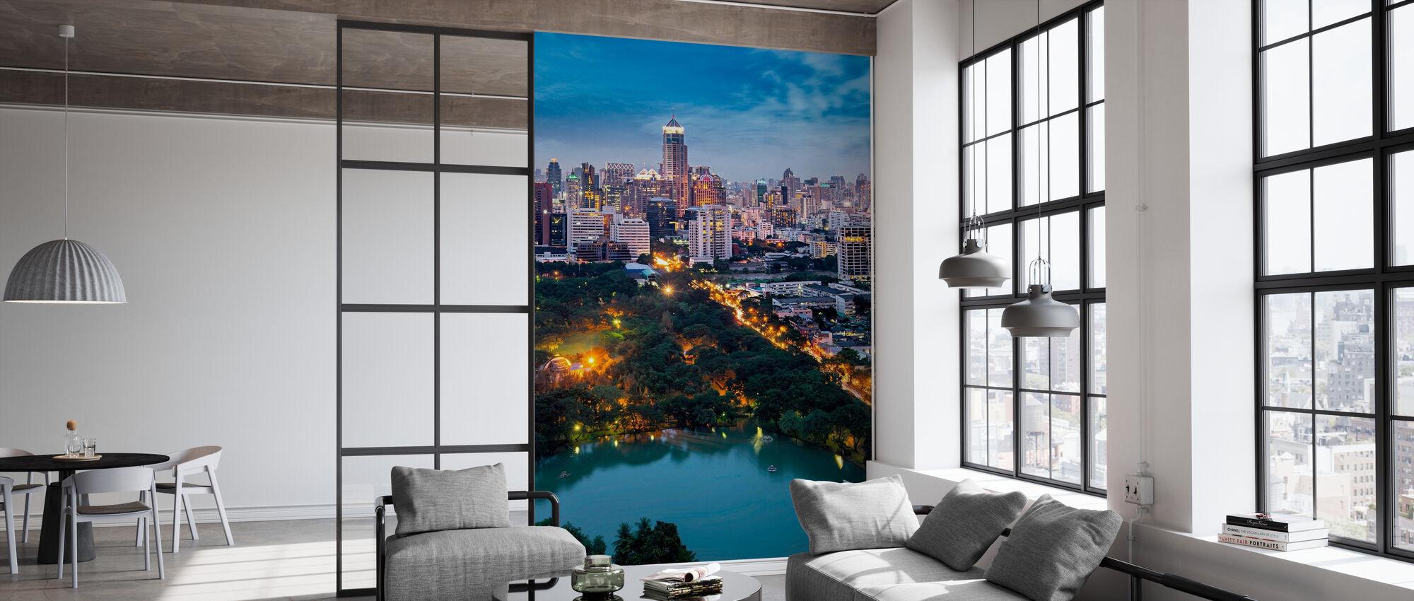Road to Bangkok - Wallpaper - Office
