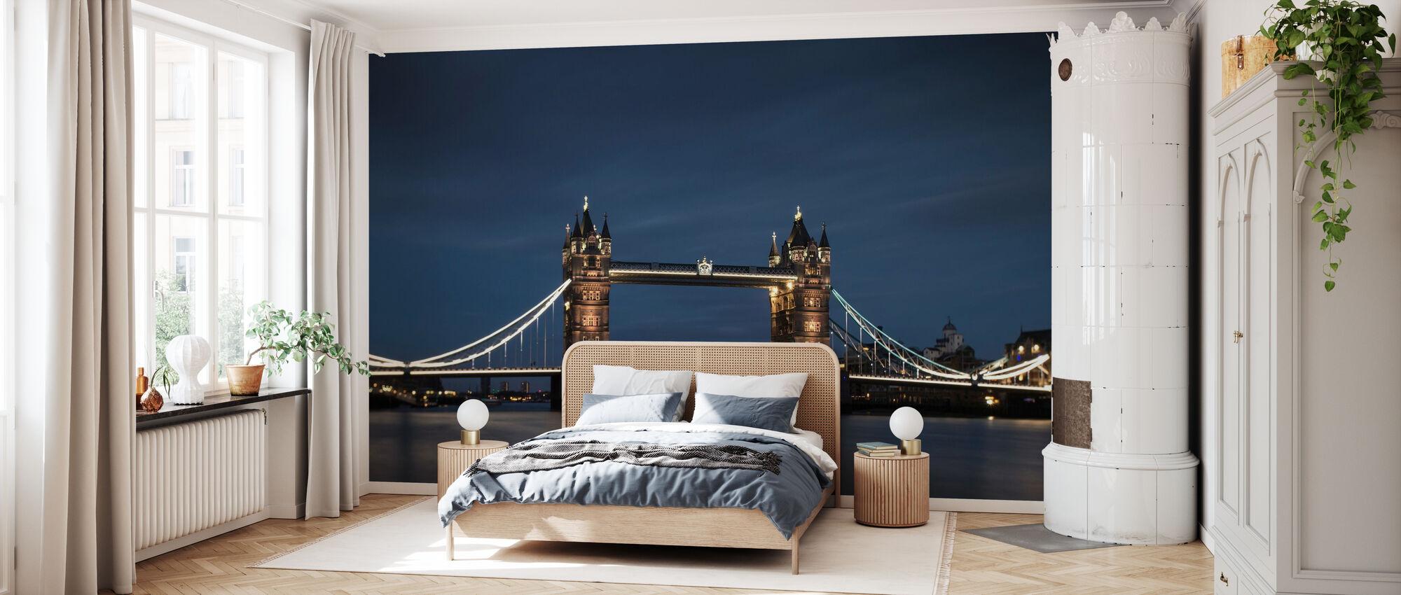 Høystiger og Blue Sky i London - Tapet - Soverom