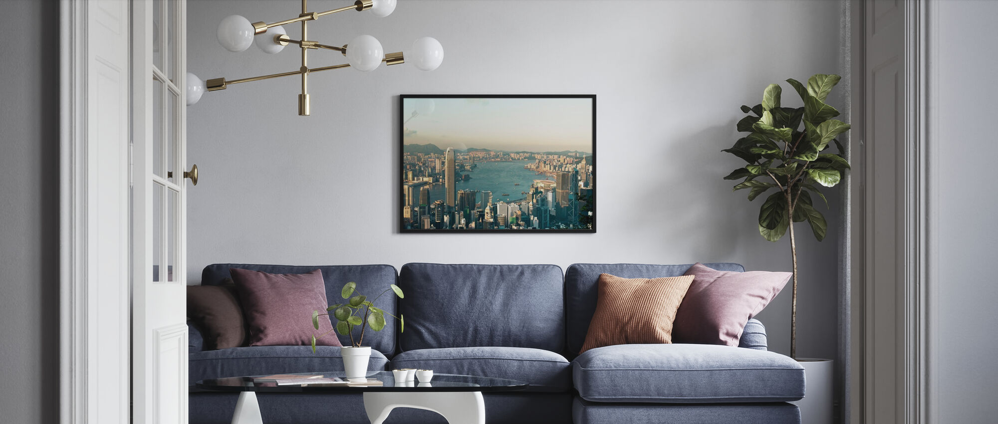 Victoria Hafen - Poster - Wohnzimmer