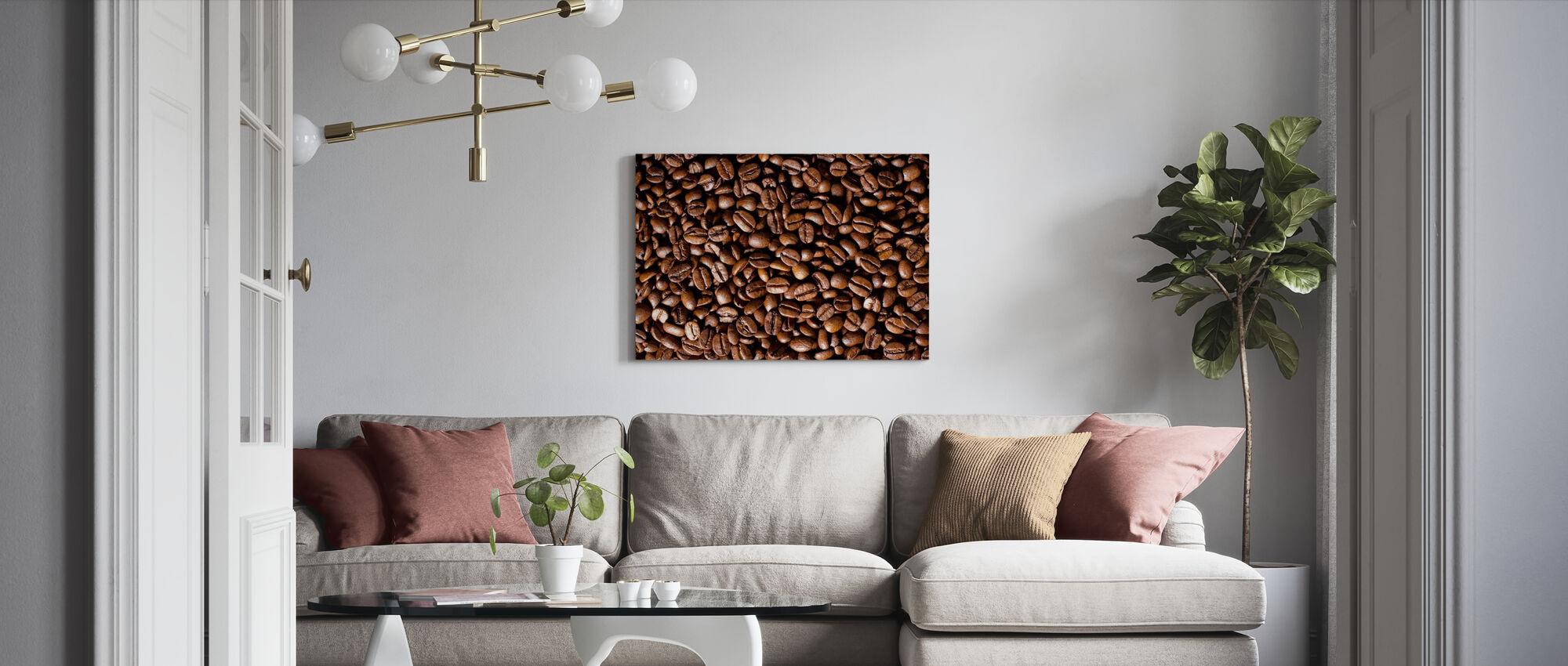 Kaffeebohnen - Leinwandbild - Wohnzimmer