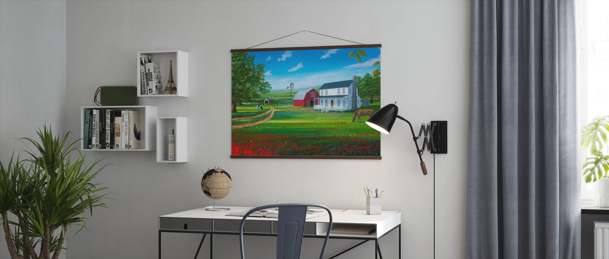 Country Living - Poster - Office