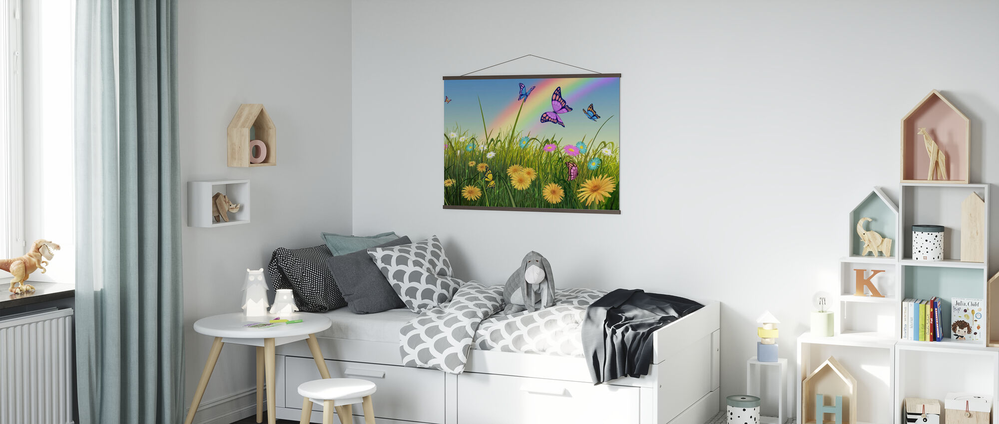 End of the Rainbow - Poster - Kids Room