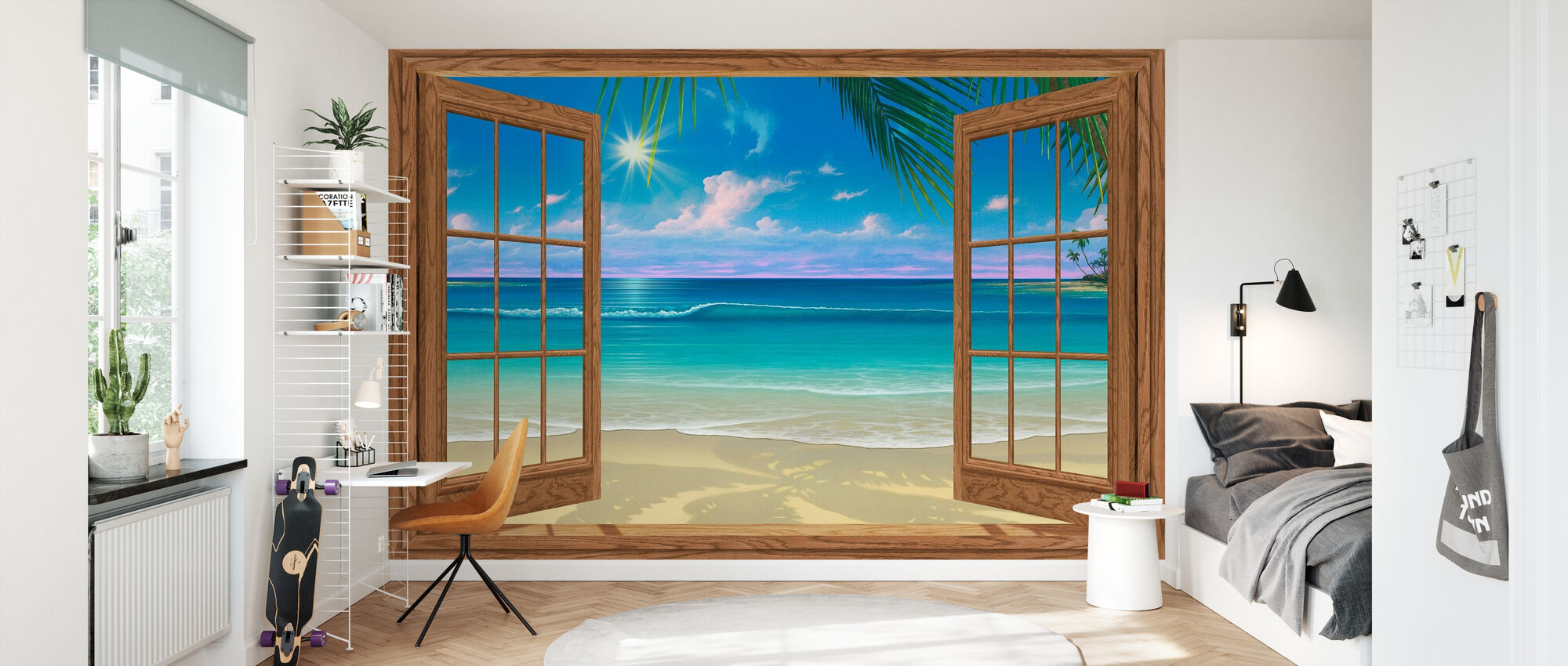 View of Paradise - Wallpaper - Kids Room