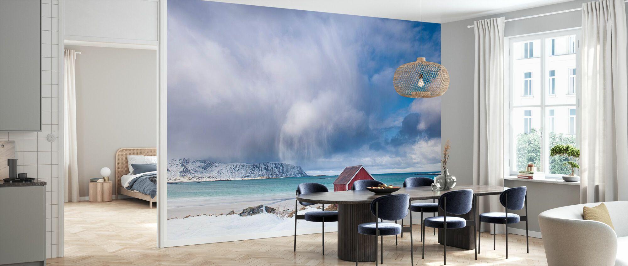 Strand humør - Tapet - Kjøkken