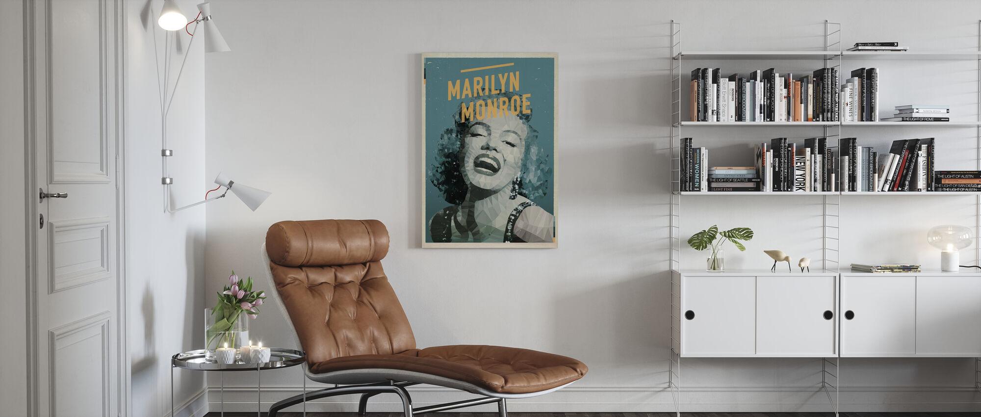 Blonde - Canvas print - Living Room