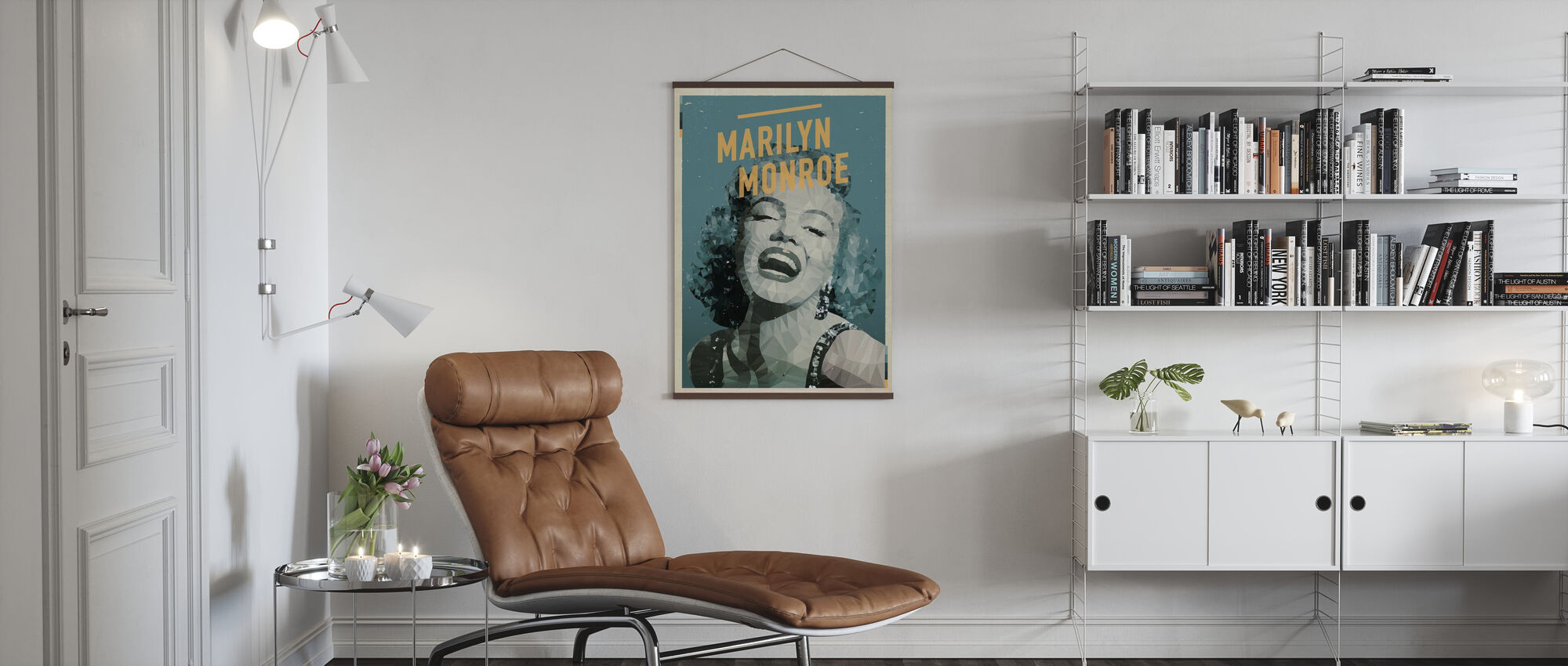 Blond - Poster - Woonkamer