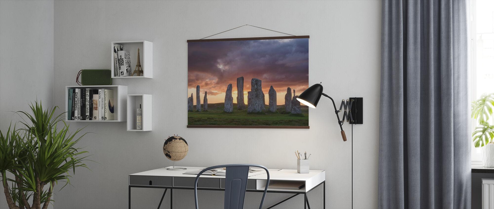 Callanischer Sonnenuntergang - Poster - Büro