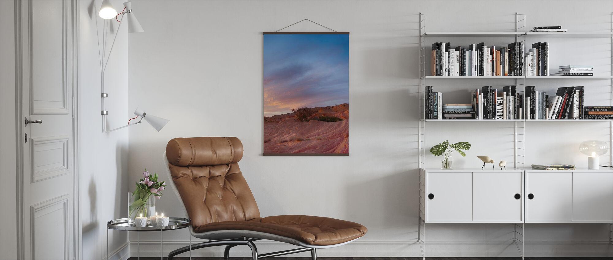 Woestijnscène - Poster - Woonkamer