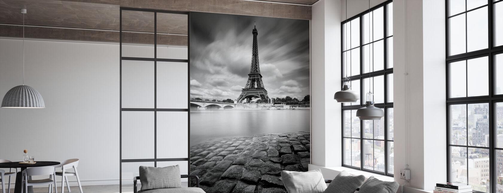 Studie van de Eiffeltoren - Behang - Kantoor