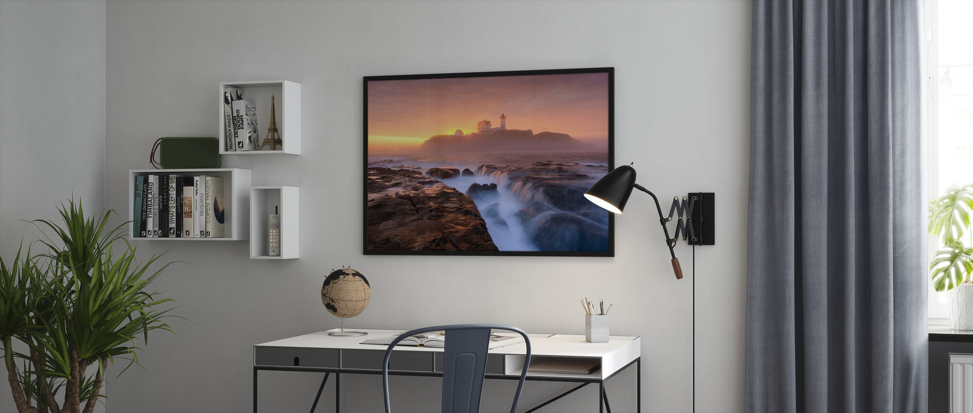 Dimma över tidvattnet - Poster - Kontor