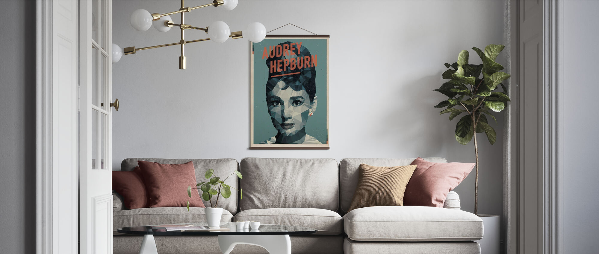 Nigdy nie myślę o sobie jako o Ikonie - Plakat - Pokój dzienny