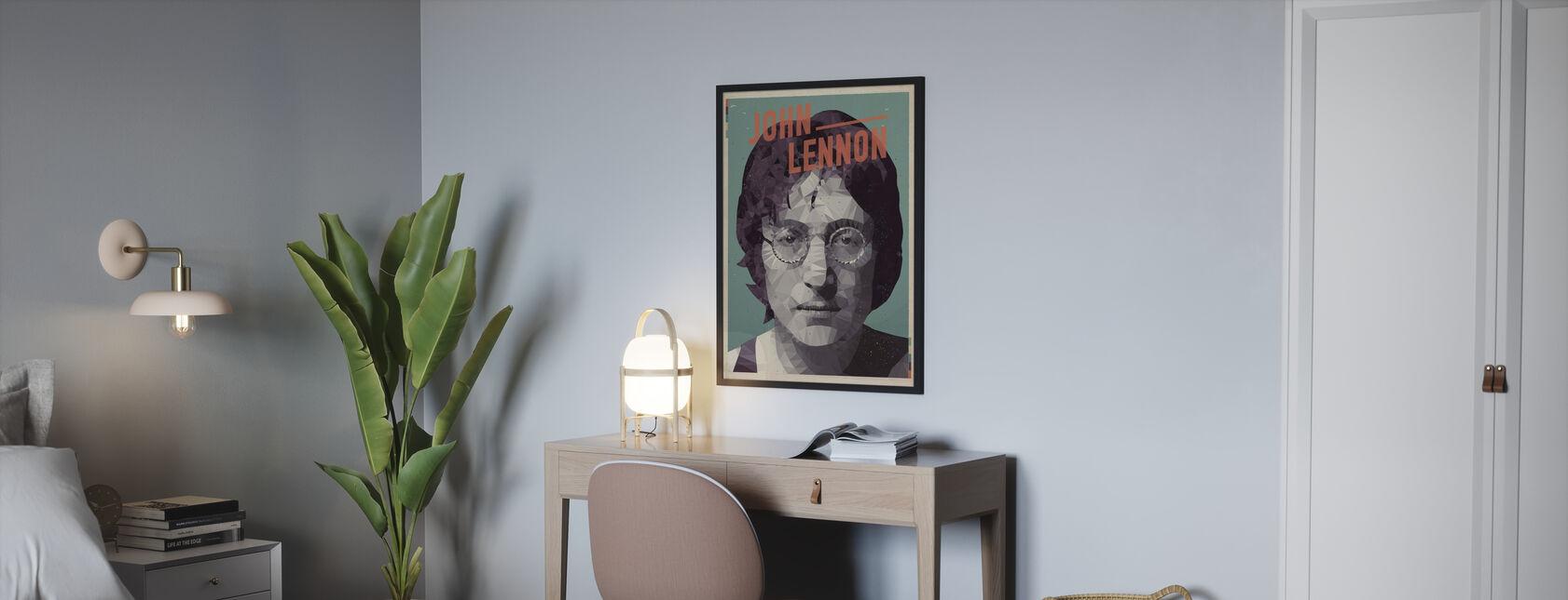 Vorstellen - Poster - Schlafzimmer