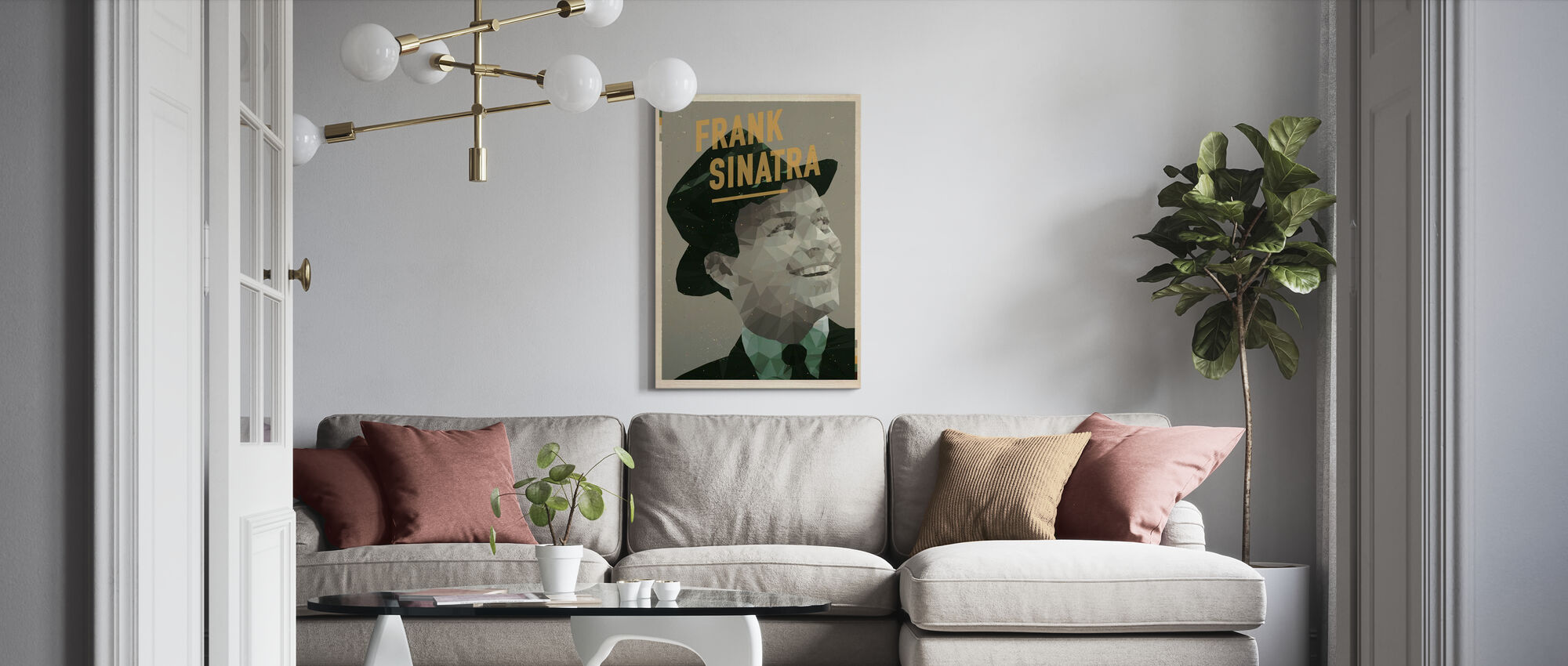It Was a Very Good Year - Canvas print - Living Room