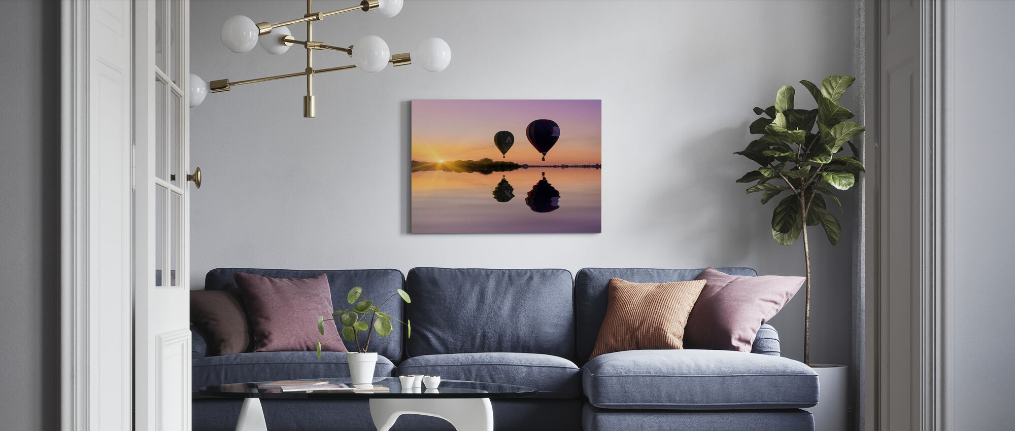 Love is in the Air - Canvas print - Living Room