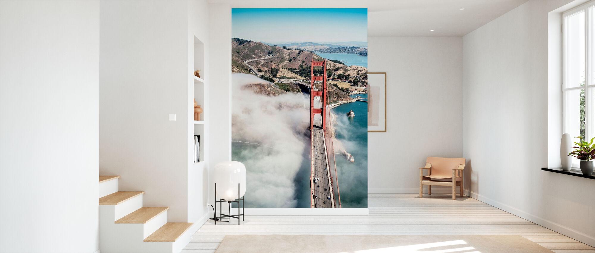 Golden Gate Bridge - Wallpaper - Hallway