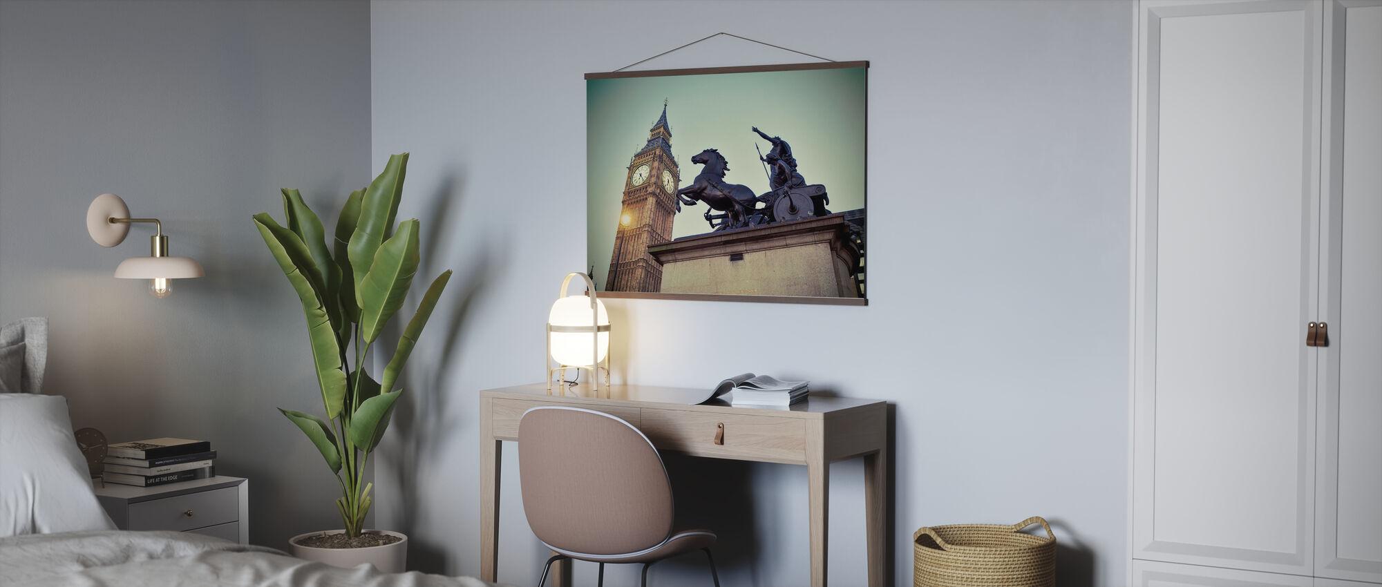 Königin Bodicea und die Zeit - Poster - Büro
