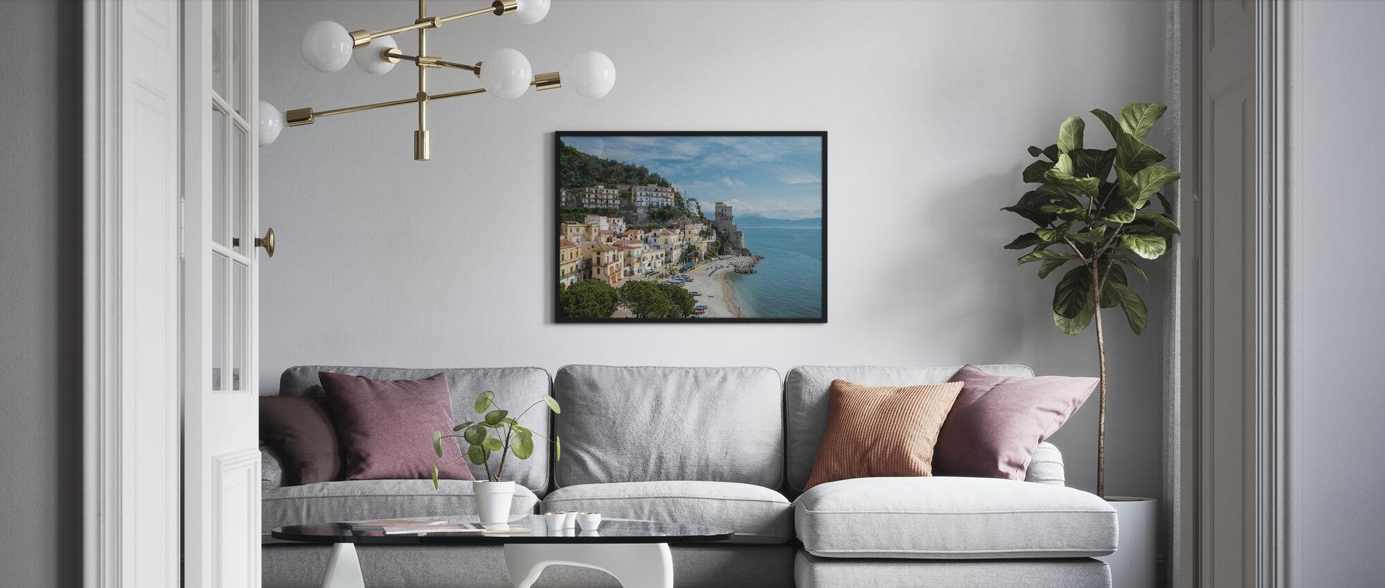 Amalfi Coast - Framed print - Living Room