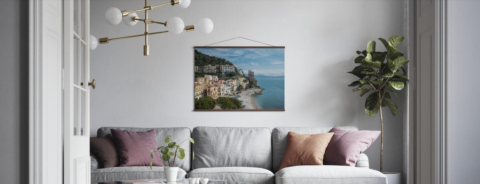Amalfi-kust - Poster - Woonkamer