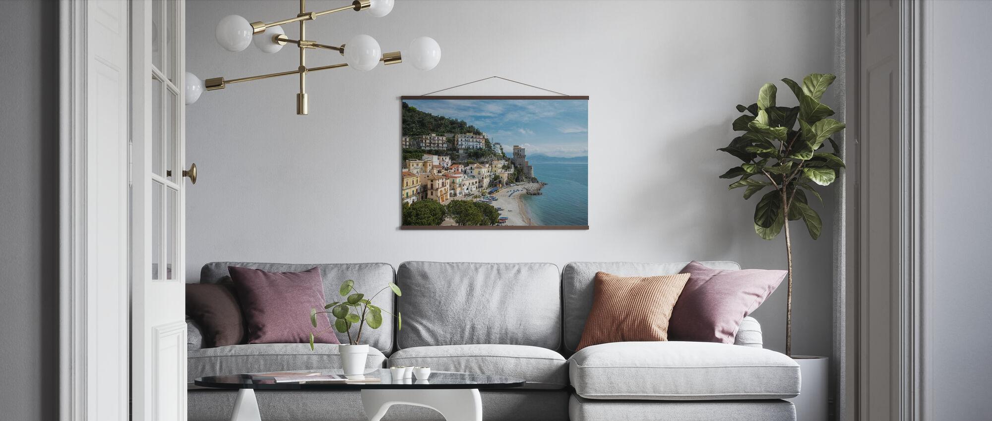 Amalfi Coast - Poster - Living Room