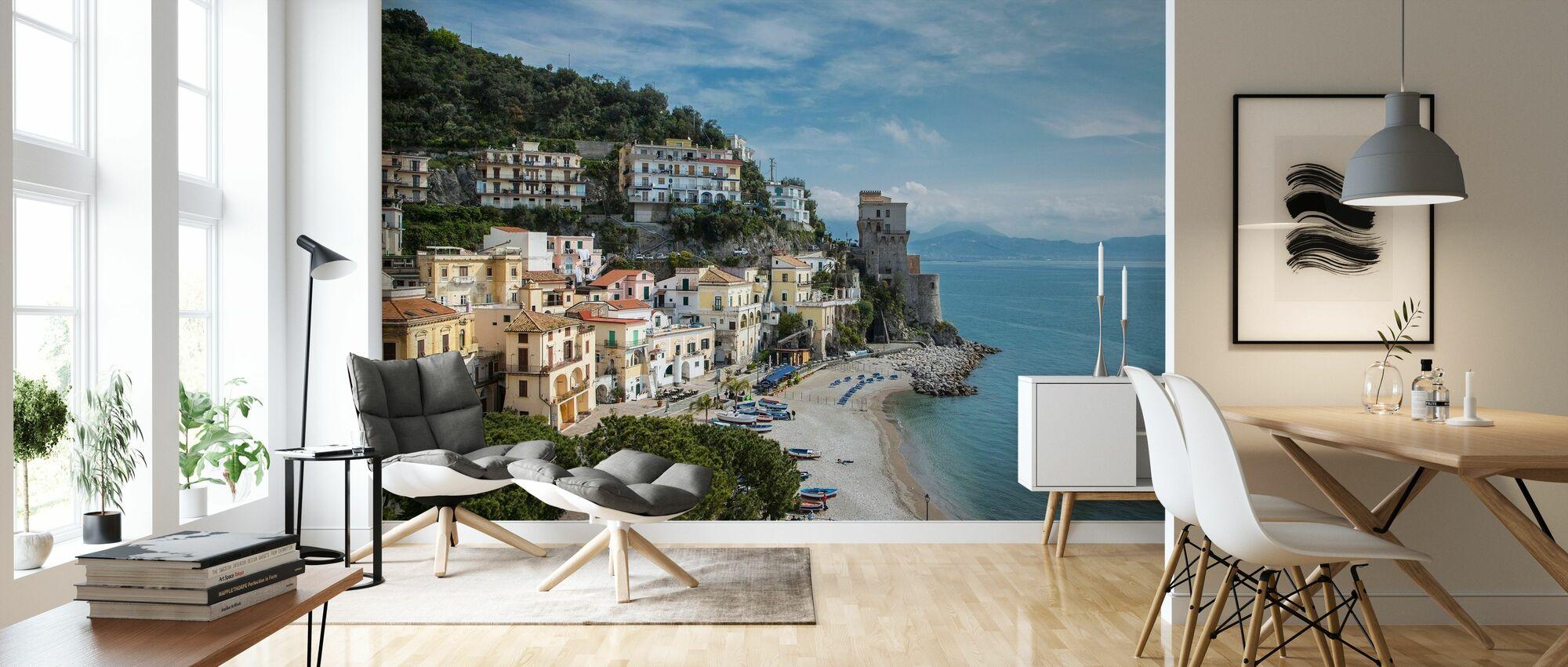 Amalfi Coast - Wallpaper - Living Room