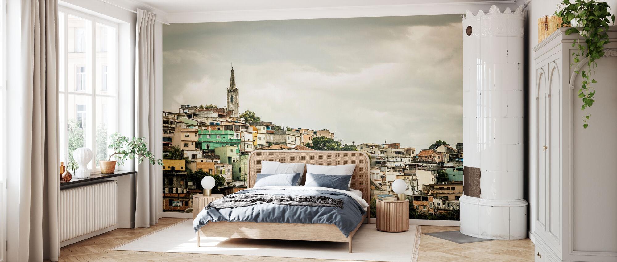 Hill River - Wallpaper - Bedroom