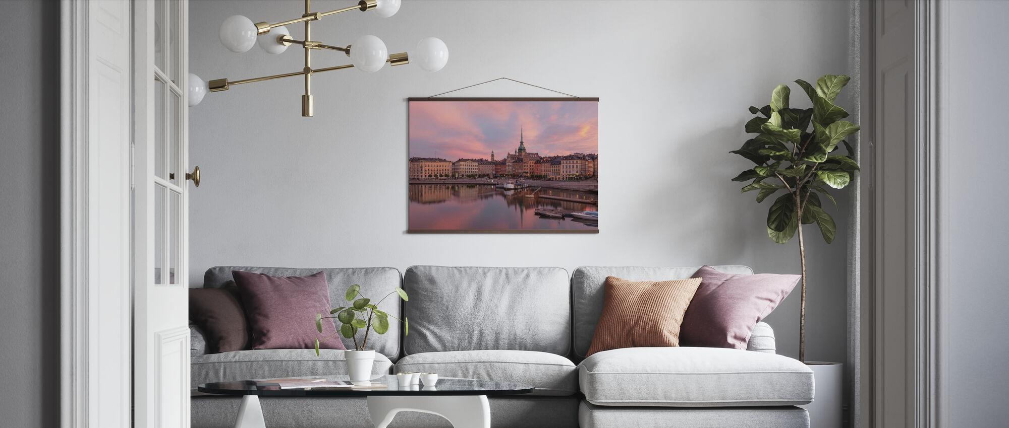Stadt zwischen den Brücken - Poster - Wohnzimmer