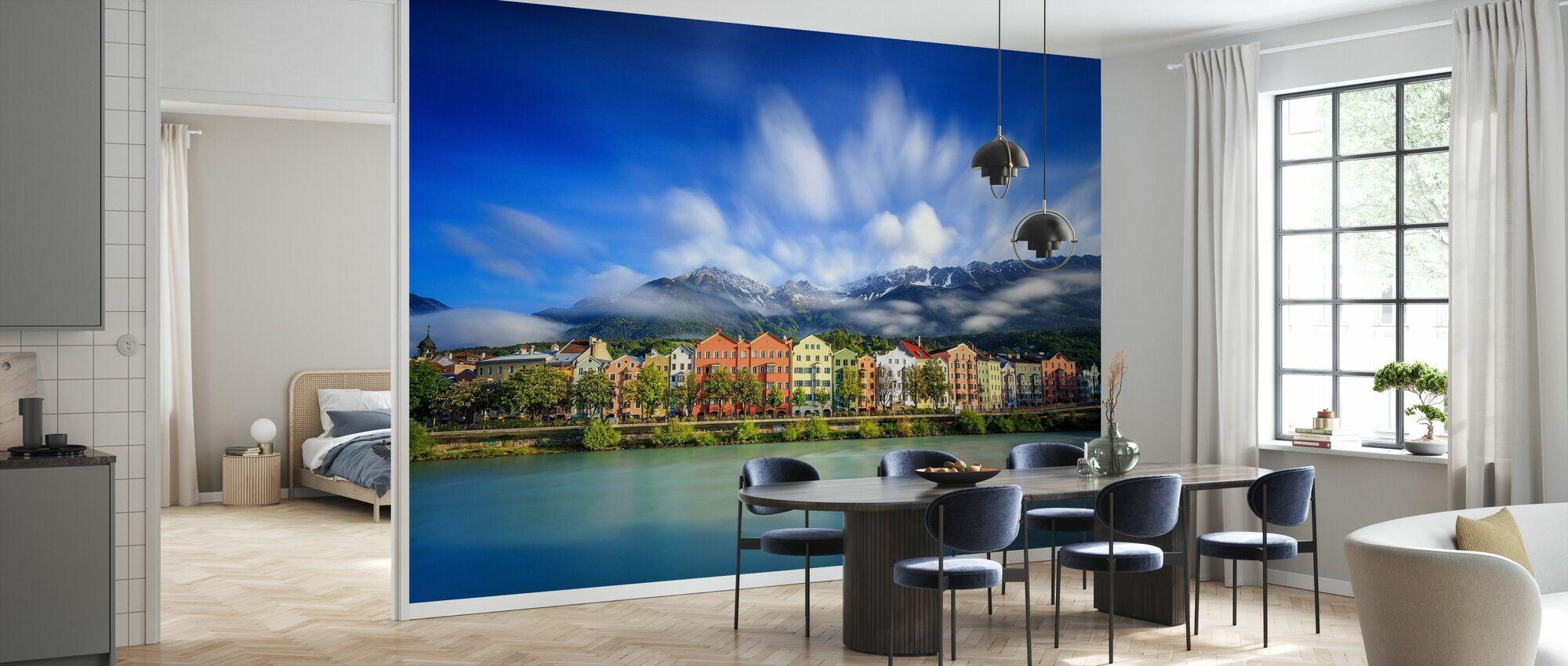 Clouds over Innsbruck - Wallpaper - Kitchen