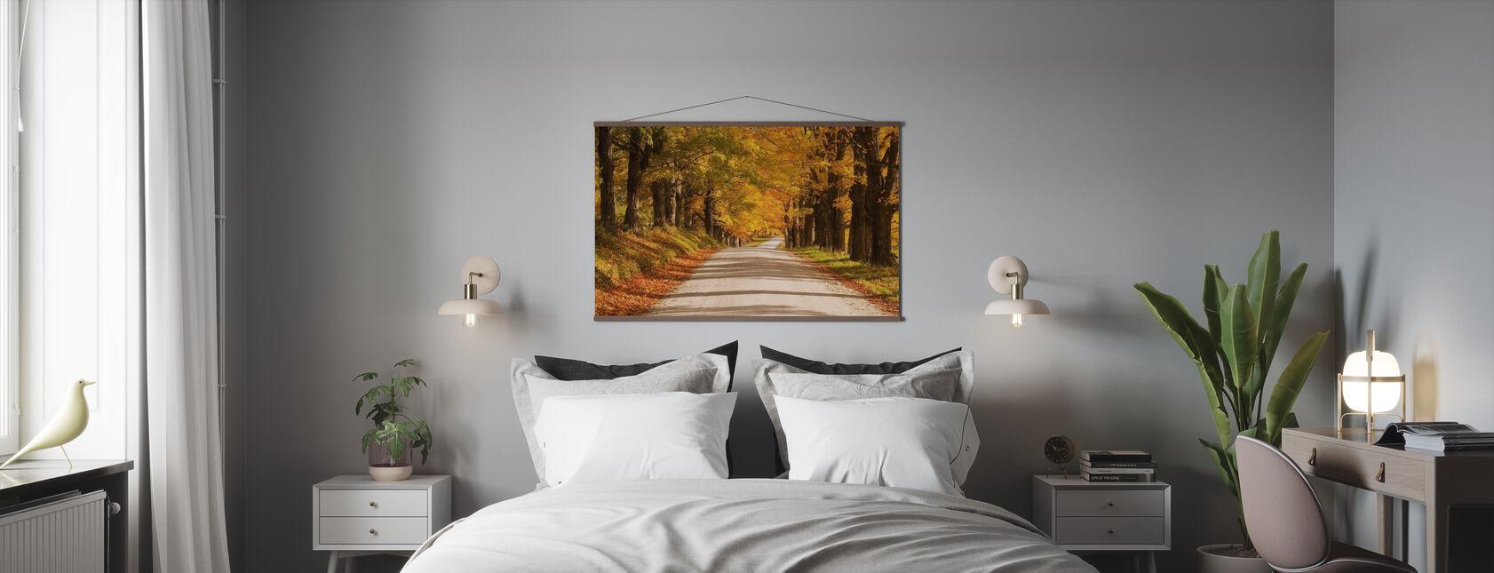 Esdoorn luifel - Poster - Slaapkamer